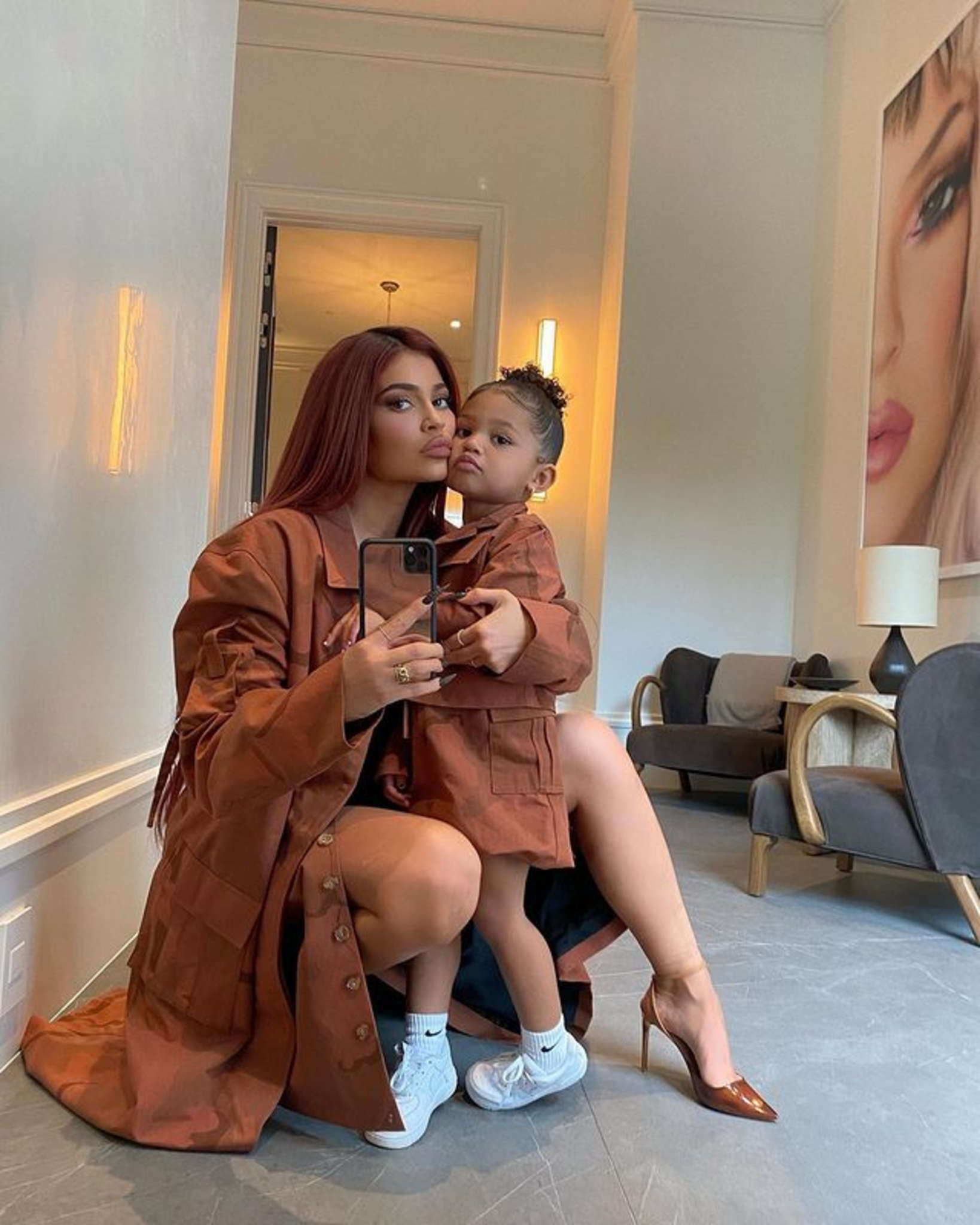1608838391 922 Kylie Jenner Shows Off Stormi Webster's Prada Purses And Calls
