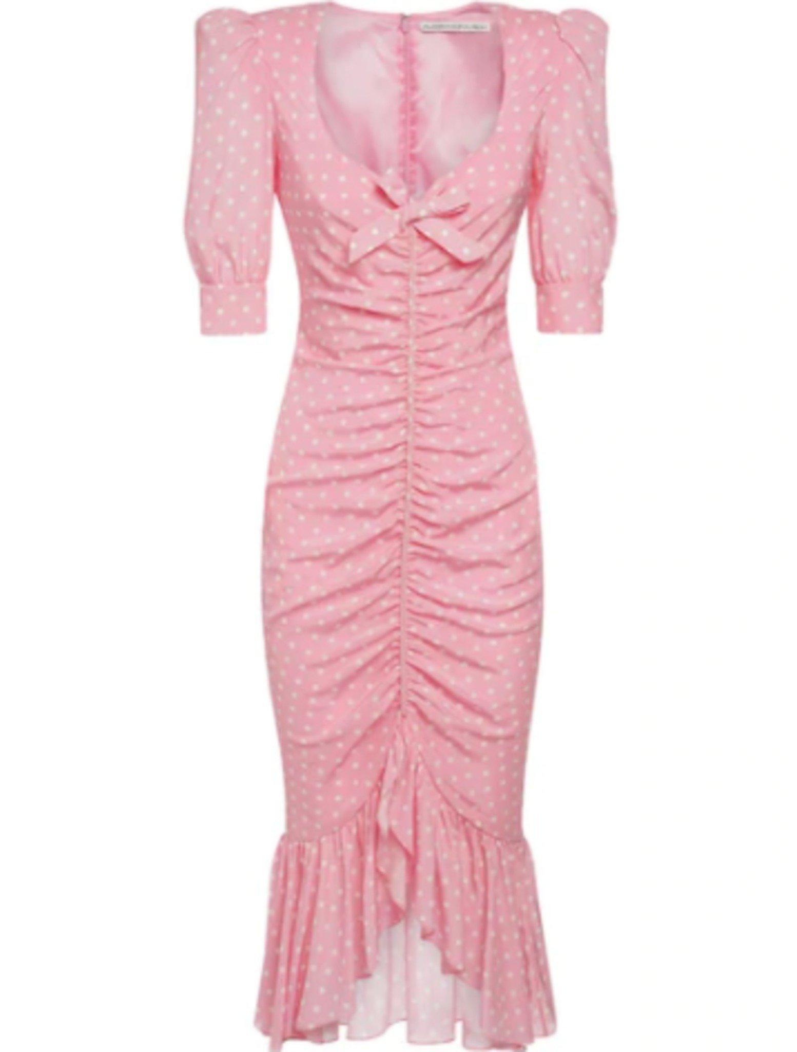 1608854519 579 Paris Hilton Is Pretty In Pink Wears Alessandra Rich