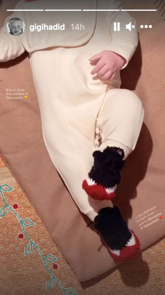 1609060017 248 Gigi Hadid Posts Adorable Pic Of Zayn Malik Holding Their