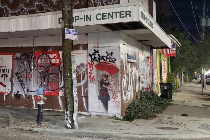 Banksy murals vandalized over Christmas