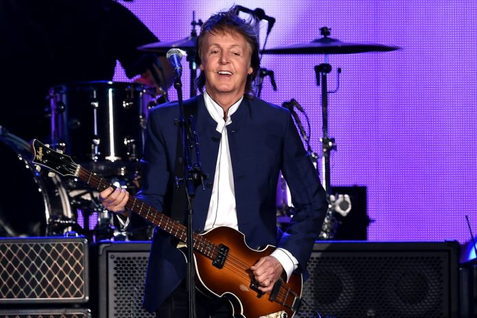 Paul McCartney lands first No. 1 album in 31 years