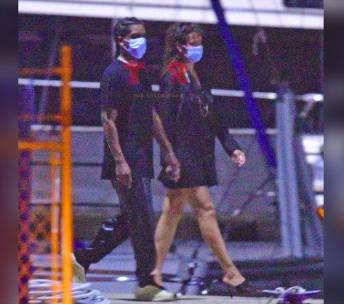 ASAP Rocky And Rihanna Spotted Holding Hands In Barbados Pics