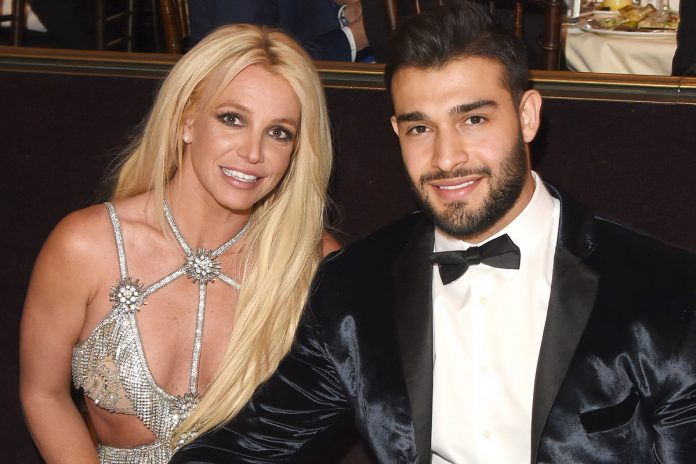 Britney Spears' boyfriend Sam Asghari tested positive for COVID-19