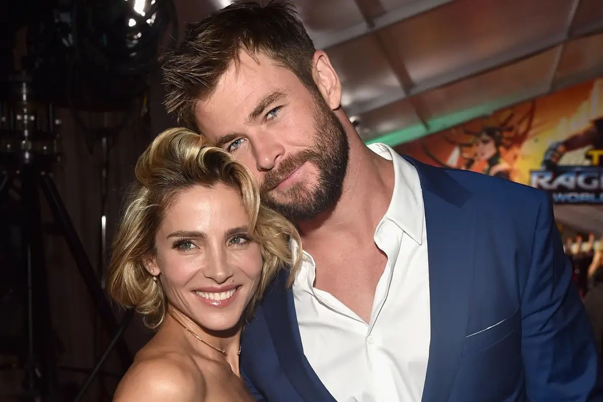 Chris Hemsworth Showers Wife Elsa Pataky With Love On Their