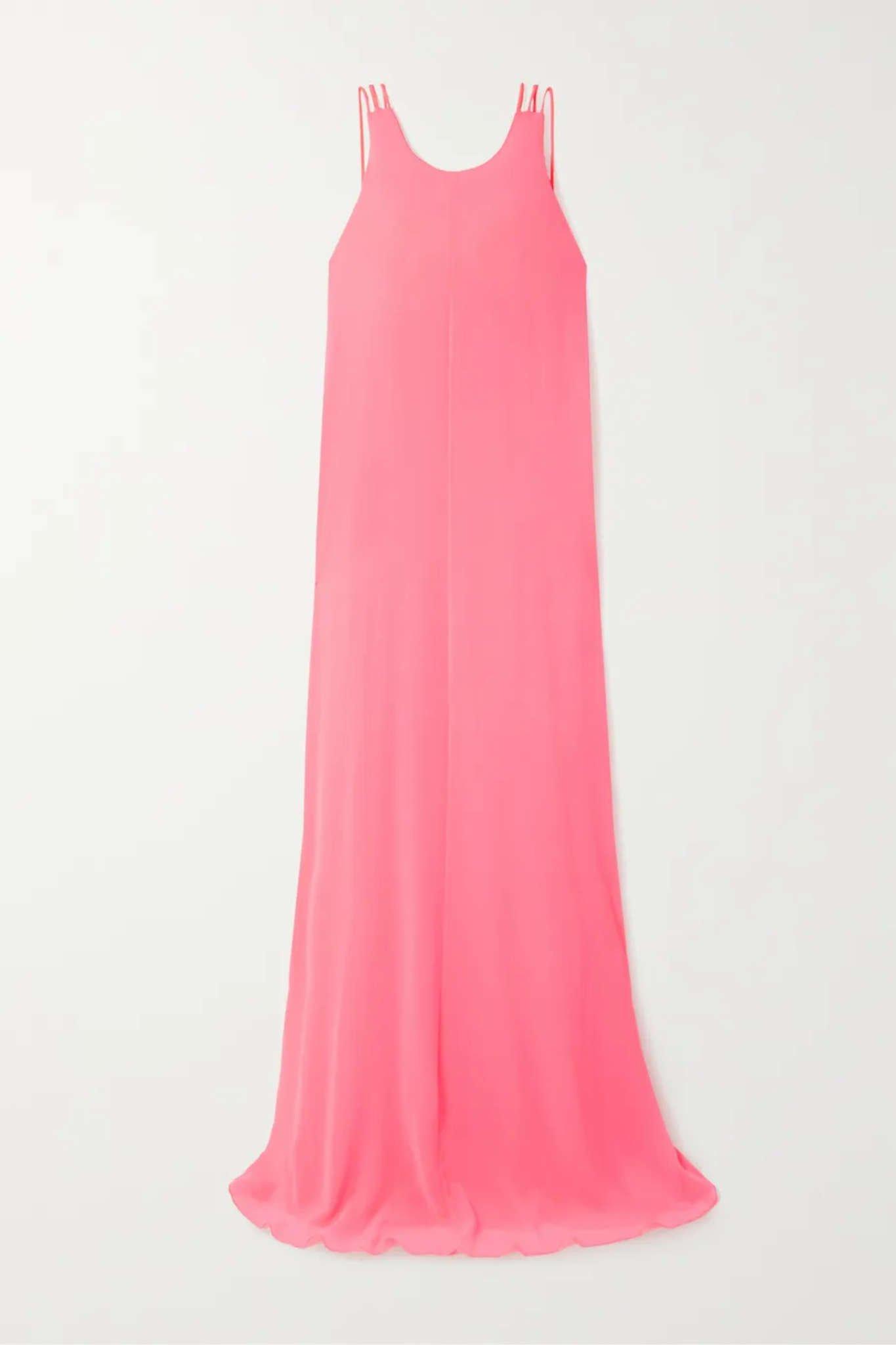Chrissy Teigen Stuns In Halpern Dress During St. Barts Trip