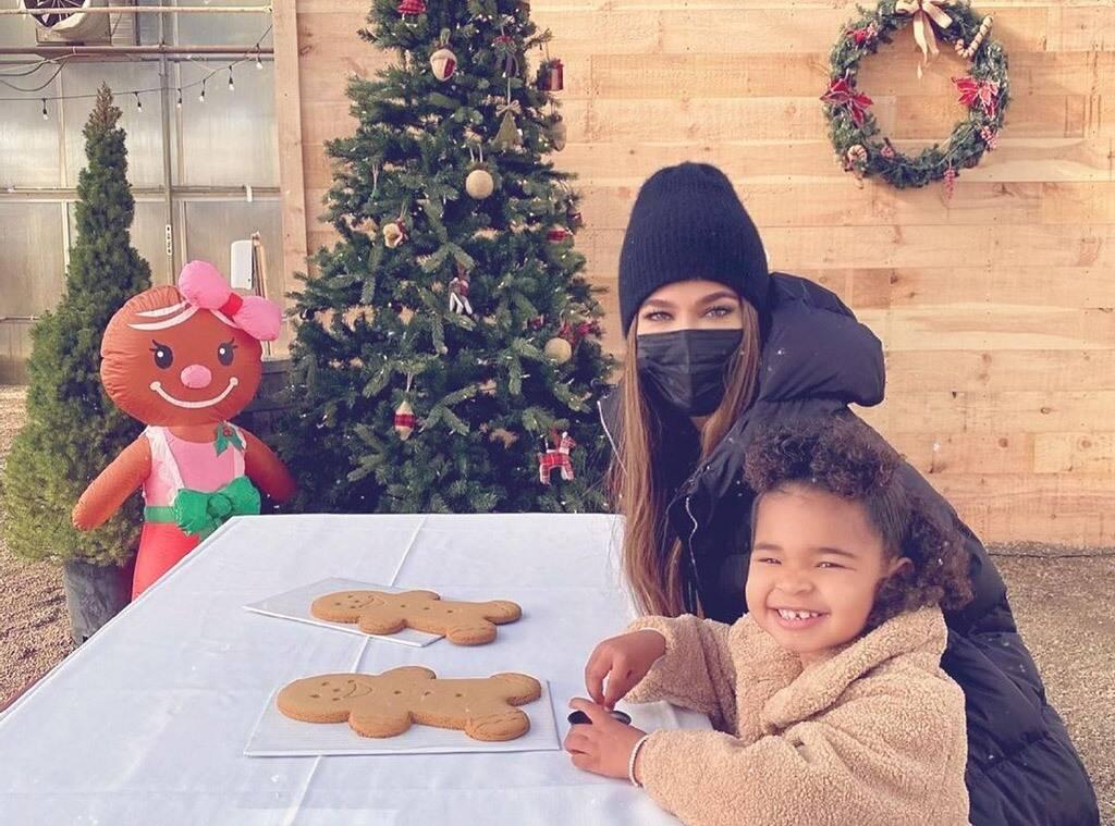 KUWTK Khloe Kardashian Celebrates Christmas Eve With Her Adorable Daughter