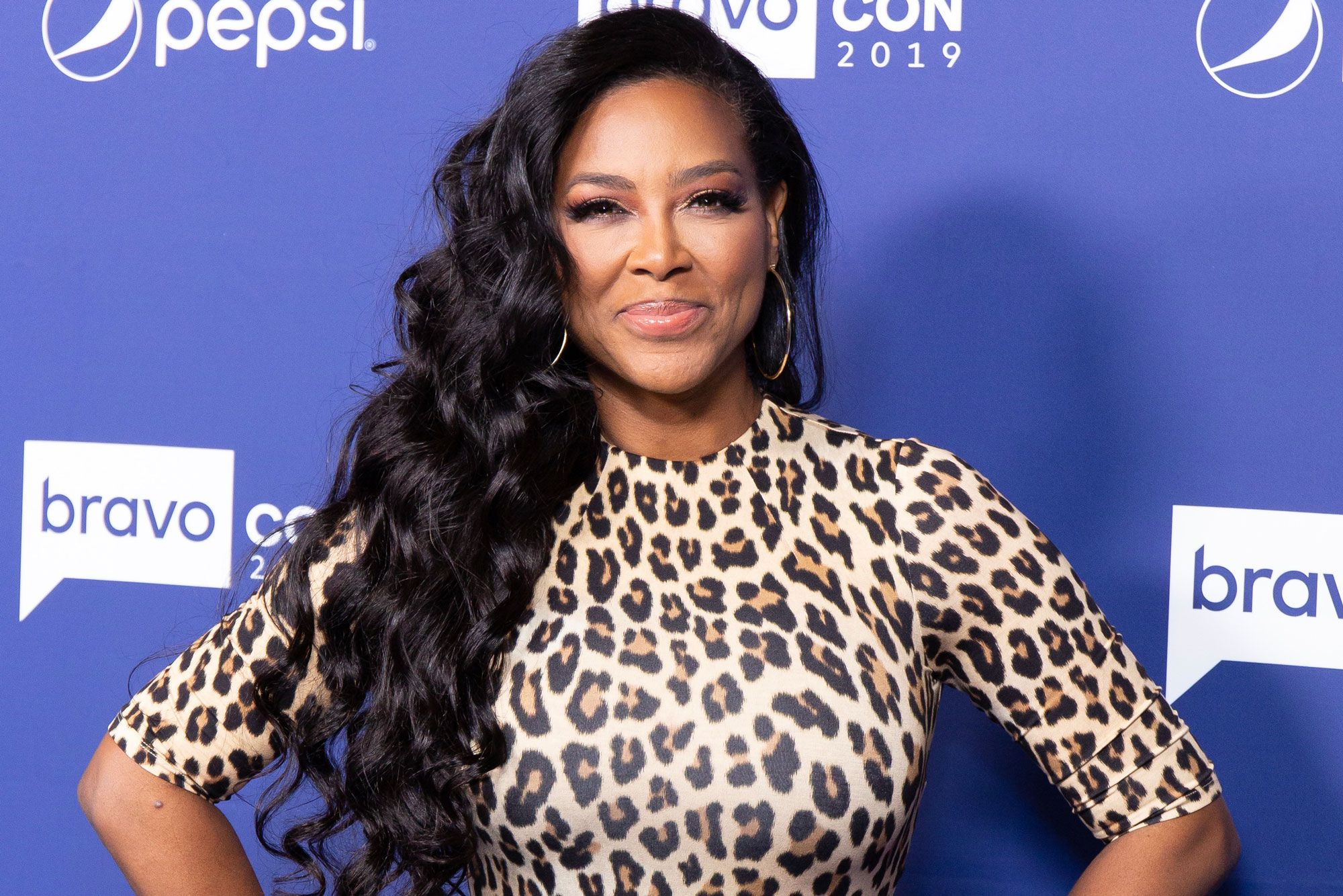 Kenya Moore Is Shining In White – Check Out Her