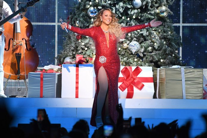 Mariah Carey 'All I Want for Christmas Is You' breaks Spotify record