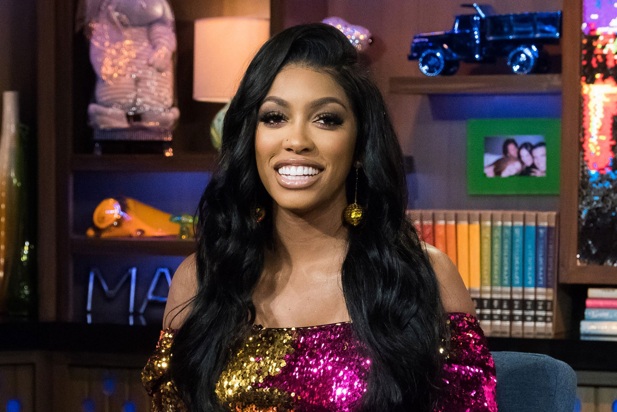 Porsha Williams Shares A Video With Pilar Jhena And They