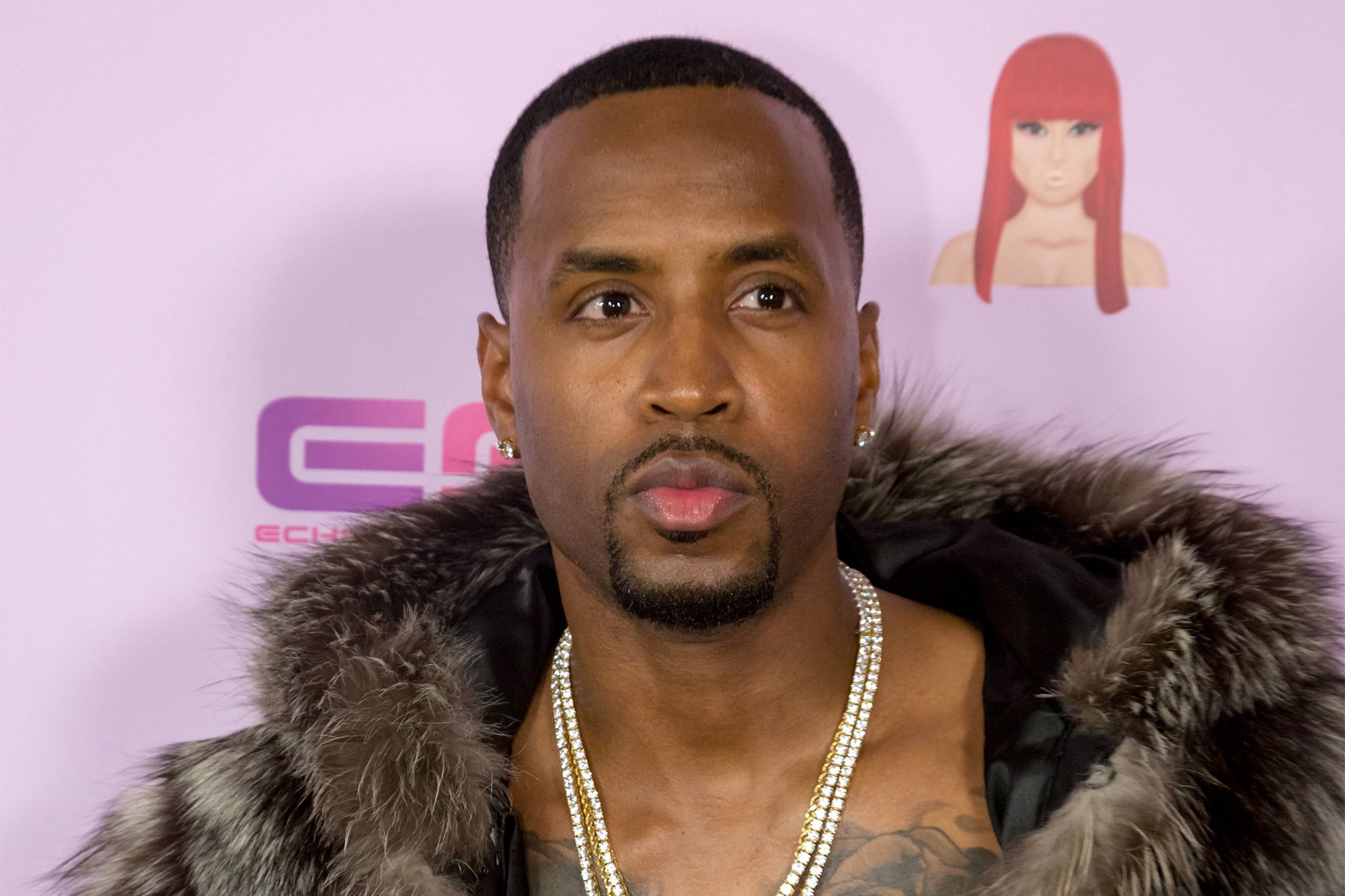 Safaree's Christmas Photo With His Daughter Safire Mesmerizes Fans