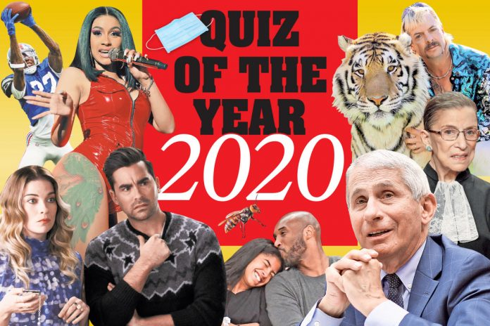Test yourself with The Post's 2020 quiz