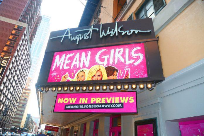 'Mean Girls' won't return to Broadway post-COVID shutdown