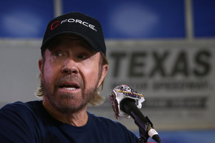 Chuck Norris trashes 'wannabe lookalike' at US Capitol riots