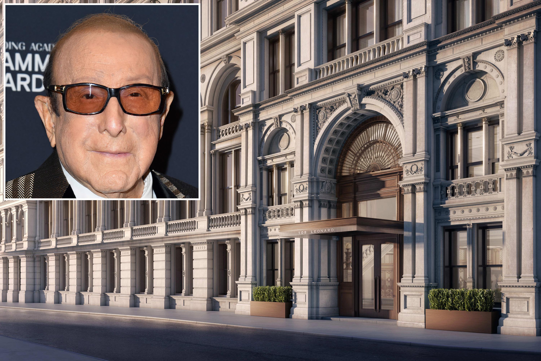 Clive Davis buys 4.6M Tribeca spread in celeb filled building