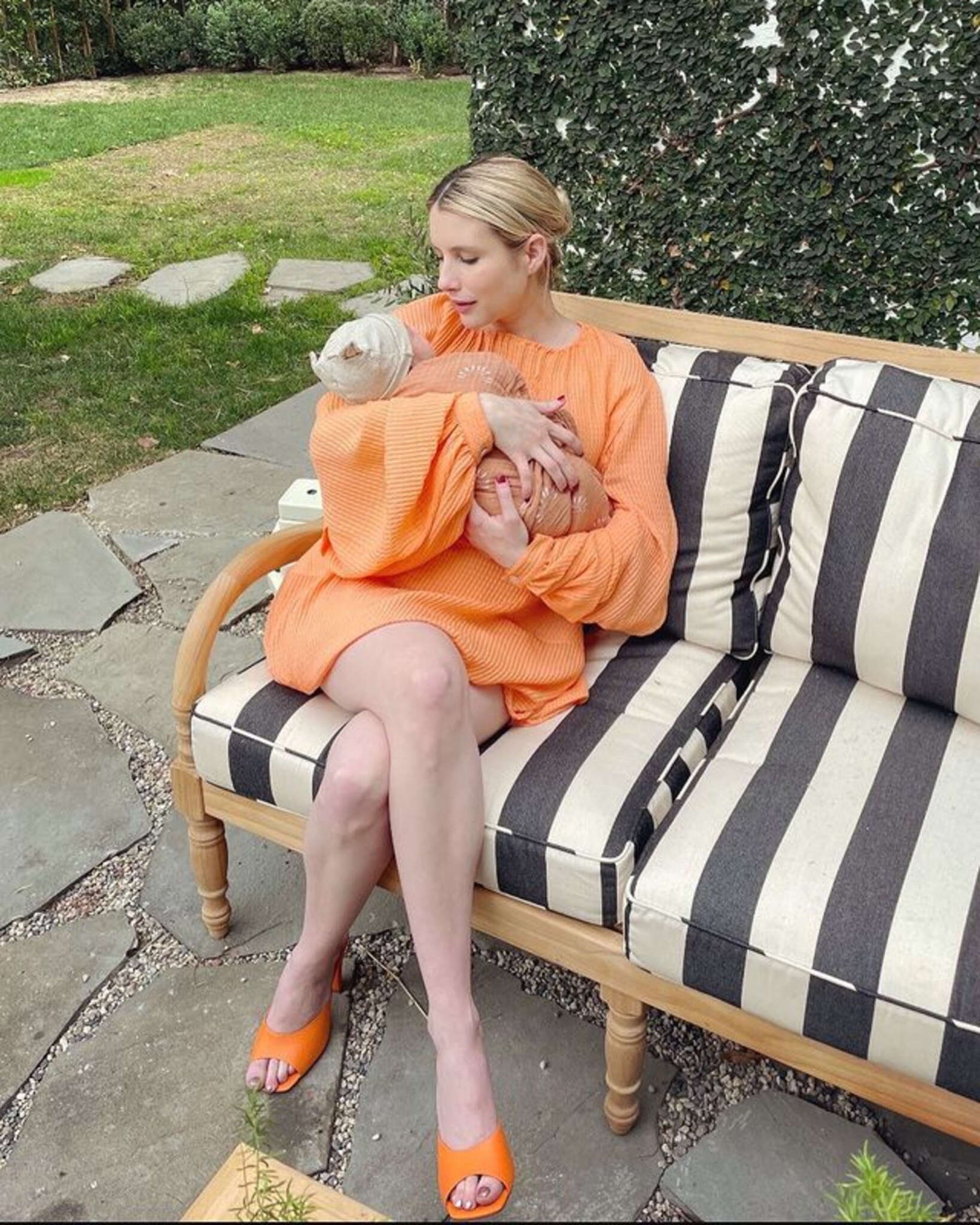 Emma Roberts Introduced Her Son Rhodes Robert To The World