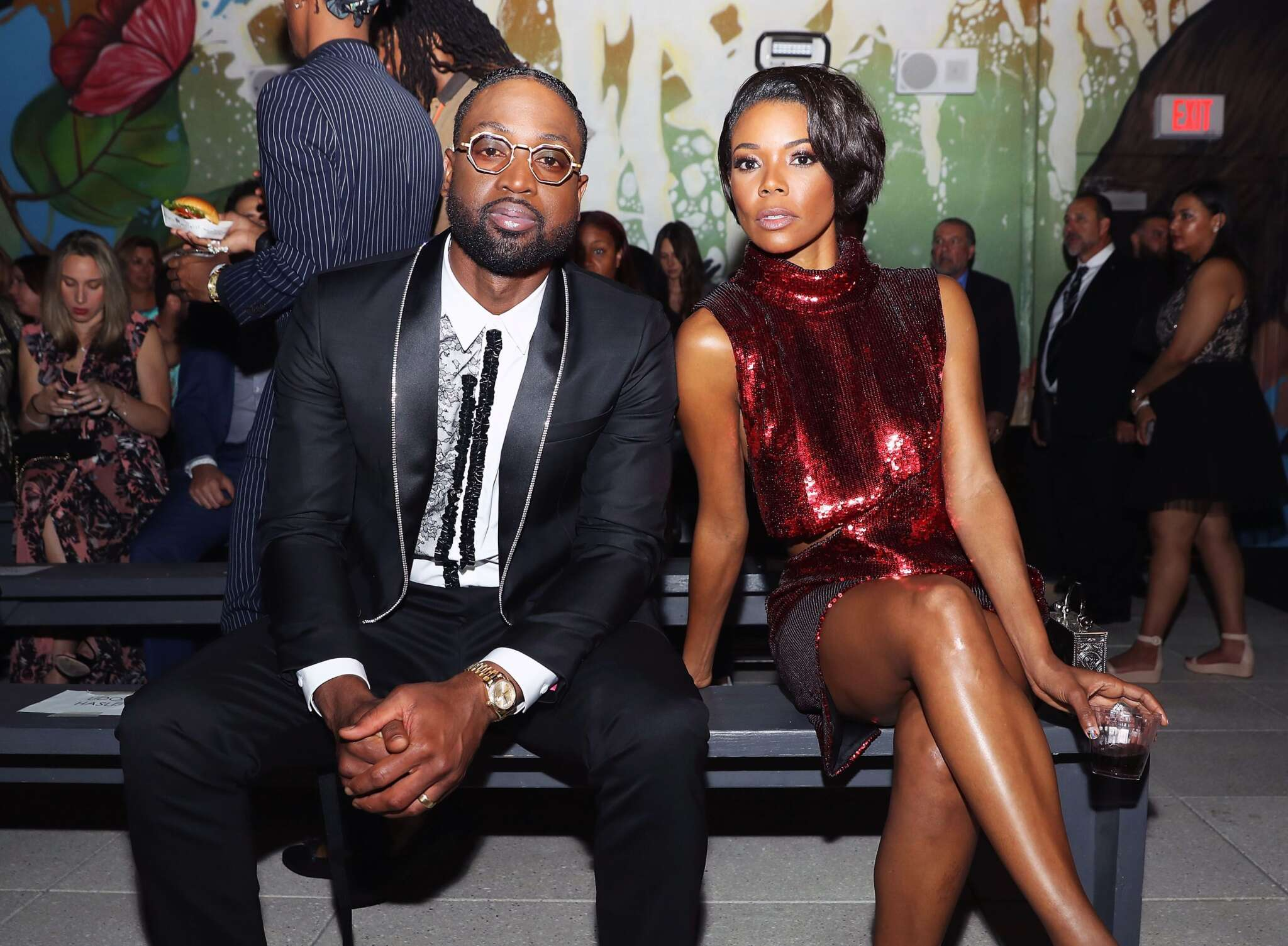 Gabrielle Union Poses With Dwyane Wade And Makes Fans Happy