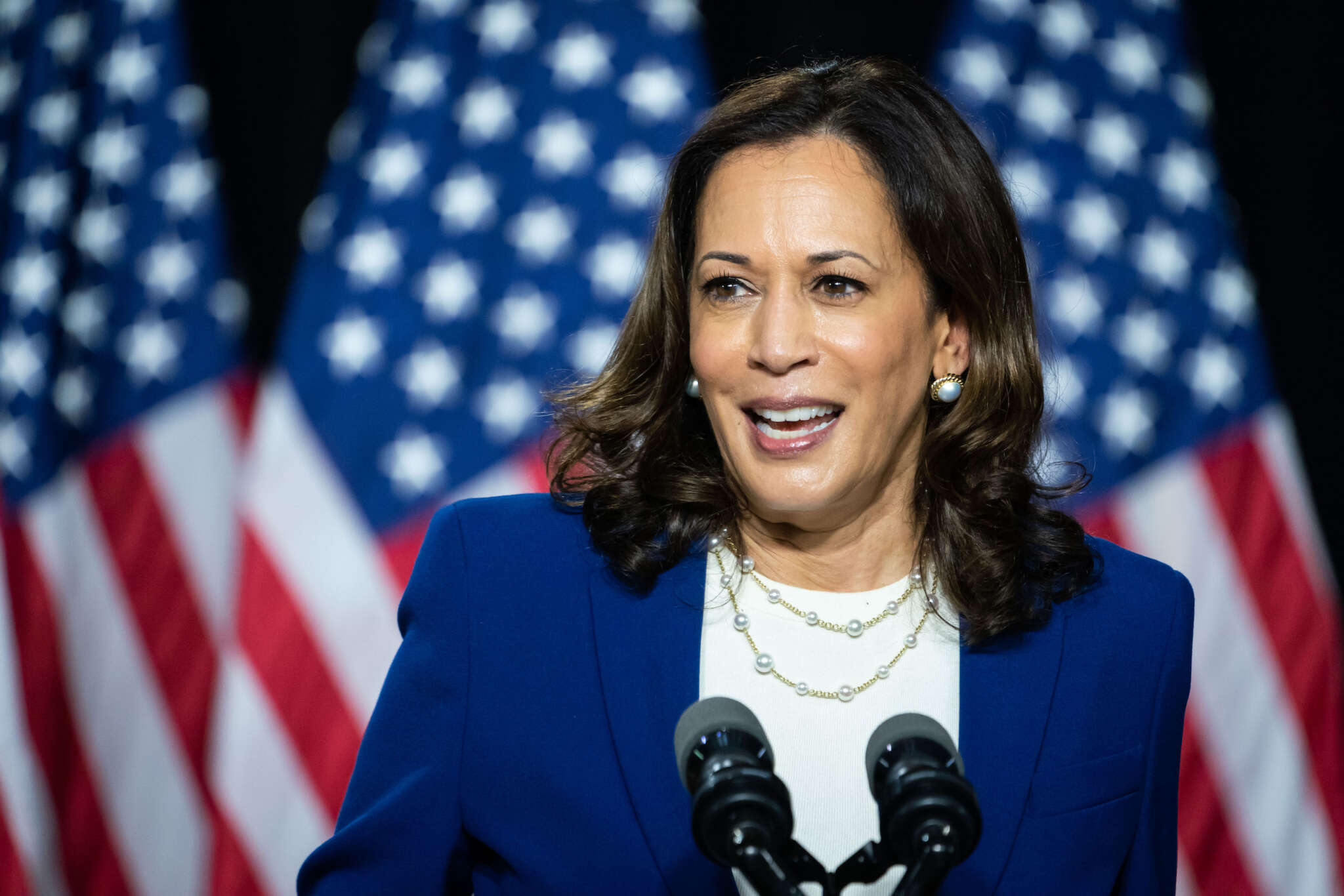 Kamala Harris Insists That 'You Don't Meet Hate With Hate'