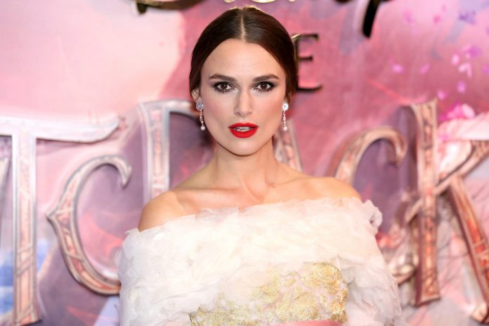 Keira Knightley says she won't do male-directed sex scenes