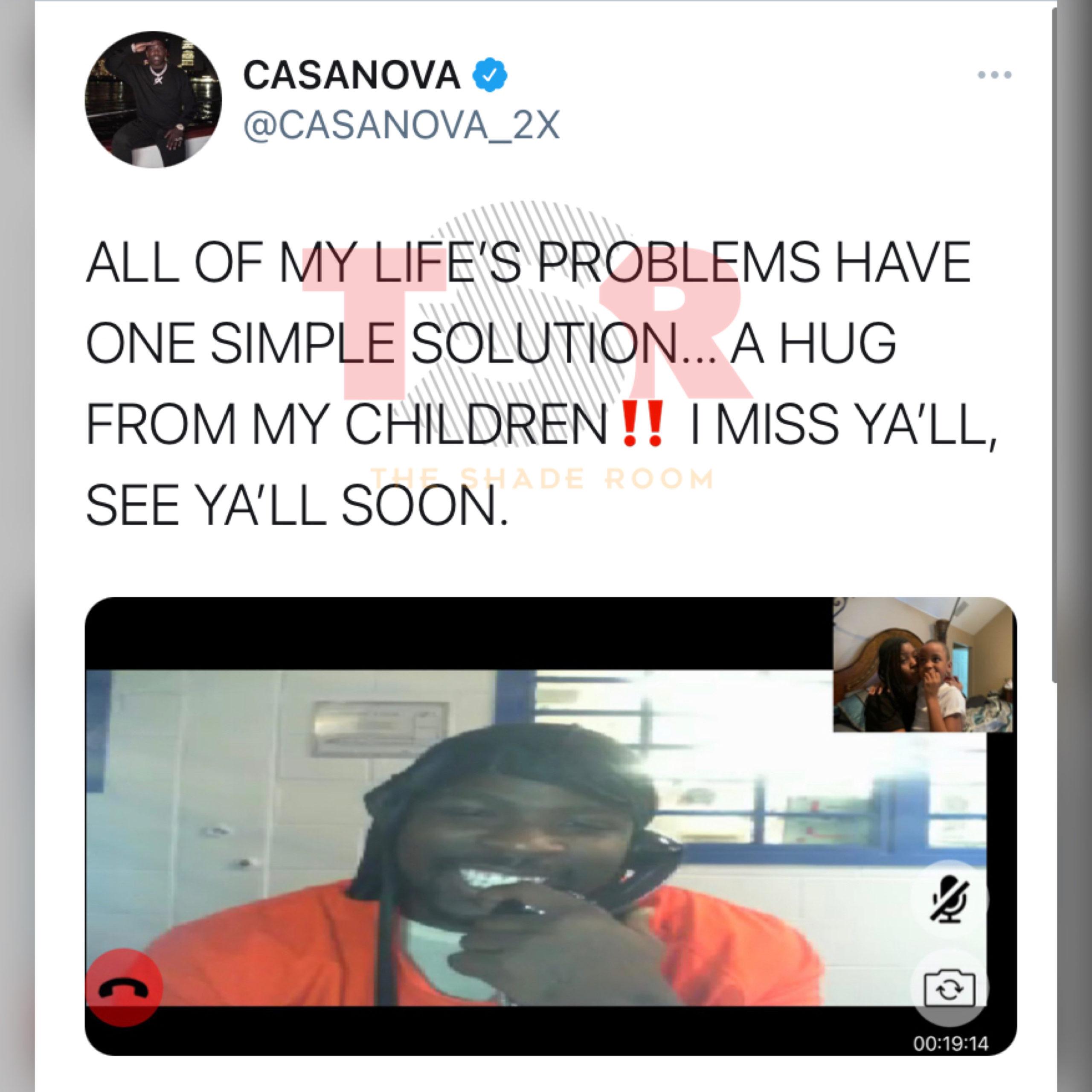 Rapper Casanova Shares A Message From Behind Bars