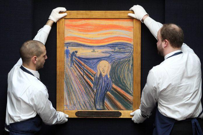 Edvard Munch wrote hidden 'madman' message on 'The Scream'