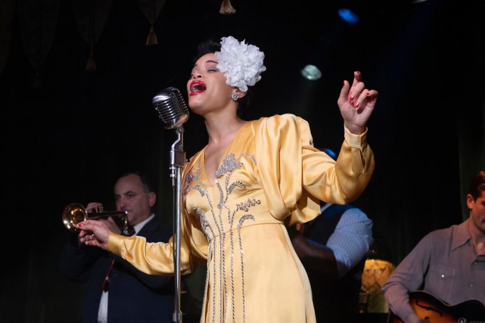 Andra Day shines in dull 'United States vs. Billie Holiday'