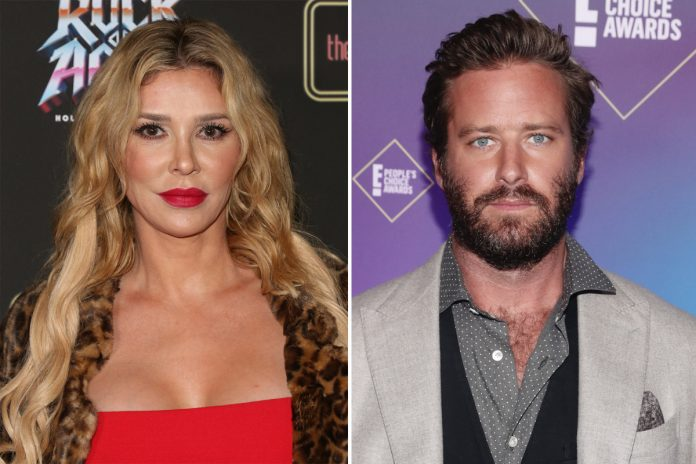 Brandi Glanville tells Armie Hammer he can have her rib cage