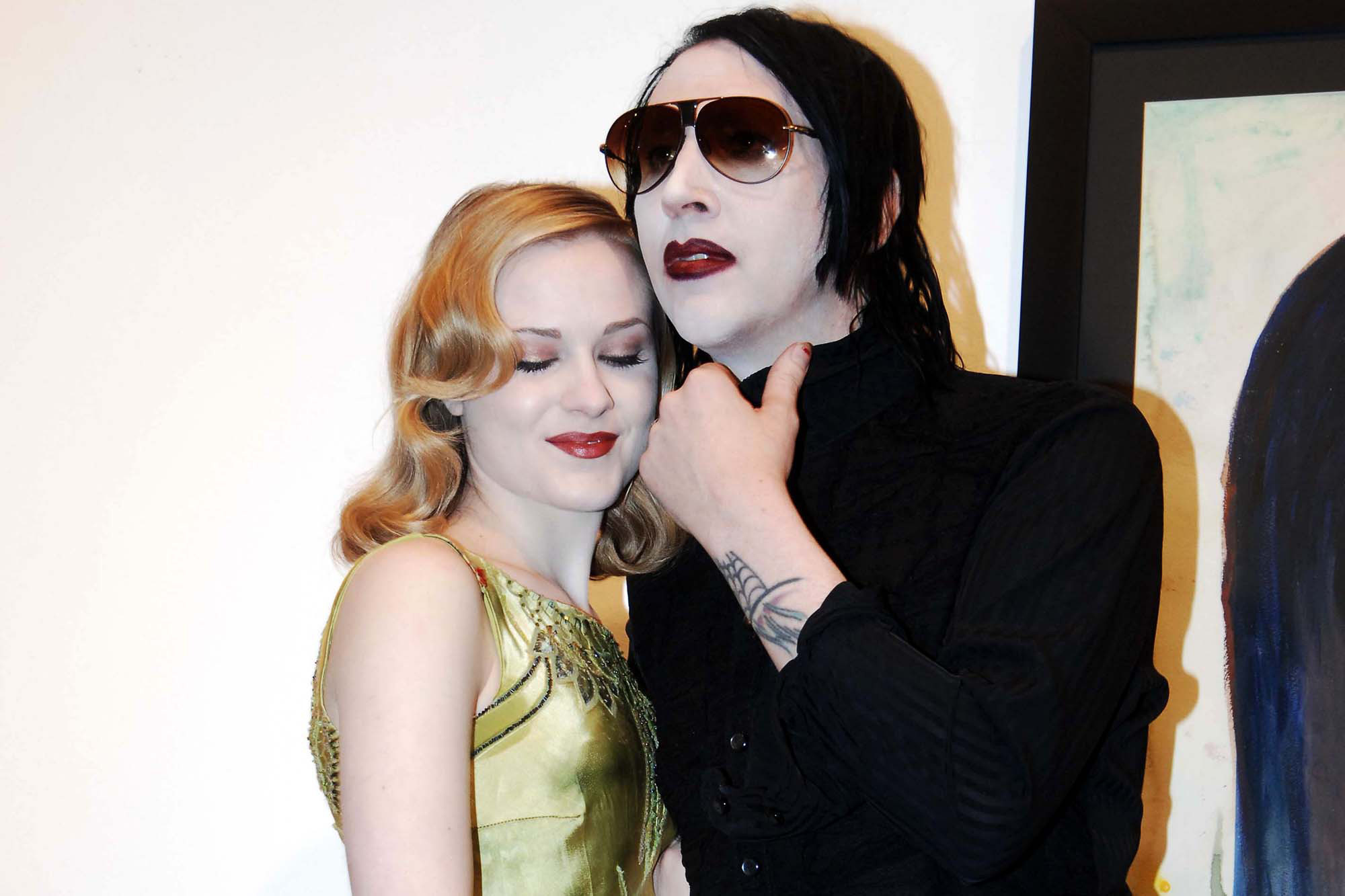 Evan Rachel Wood filed a police report against Marilyn Mansons