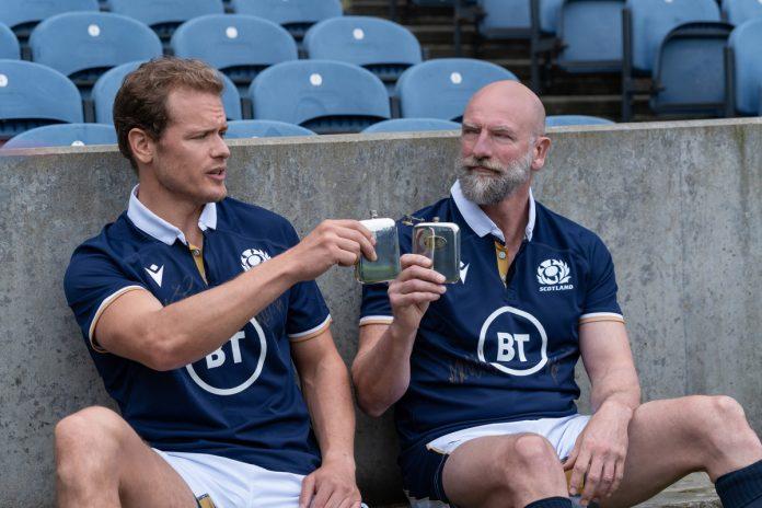 Graham McTavish on 'Men in Kilts' with Sam Heughan