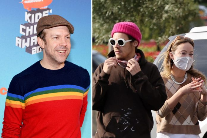 Harry Styles and Jason Sudeikis could be poised for an awkward run-in
