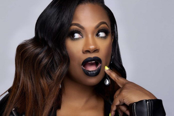 Kandi Burruss has Some Great Bedroom Tricks For Her Fans And Followers - See Her Video