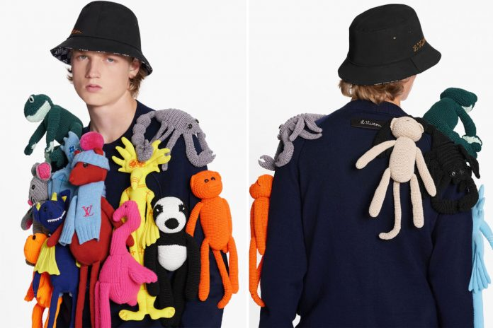 Louis Vuitton's $8K puppet sweater has people all up in arms