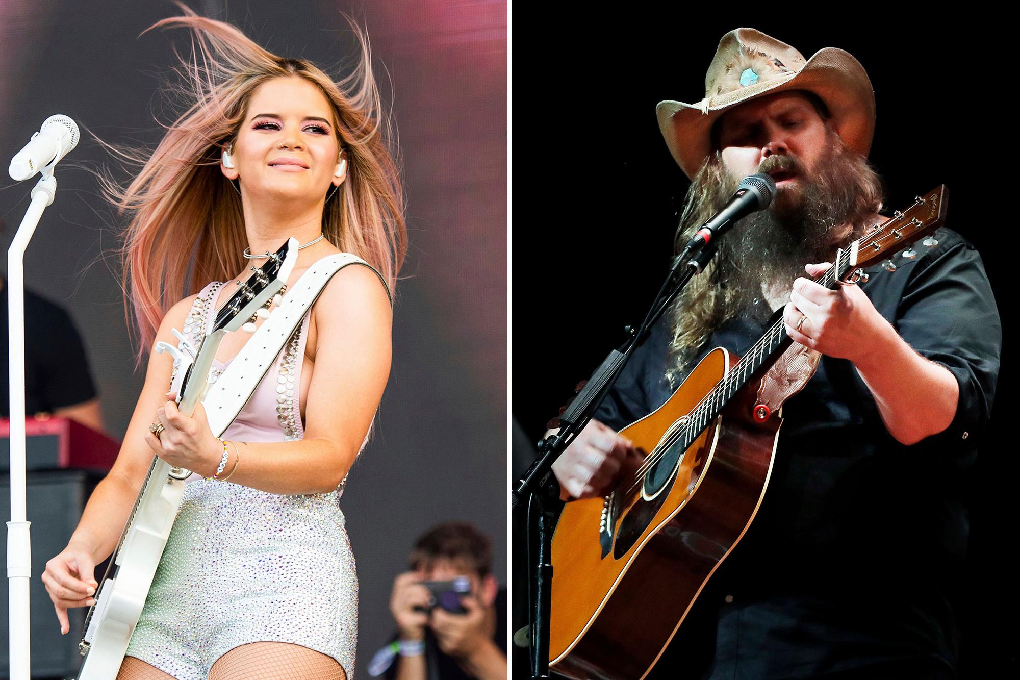 Maren Morris Chris Stapleton lead Country Music Award 2021 nominations