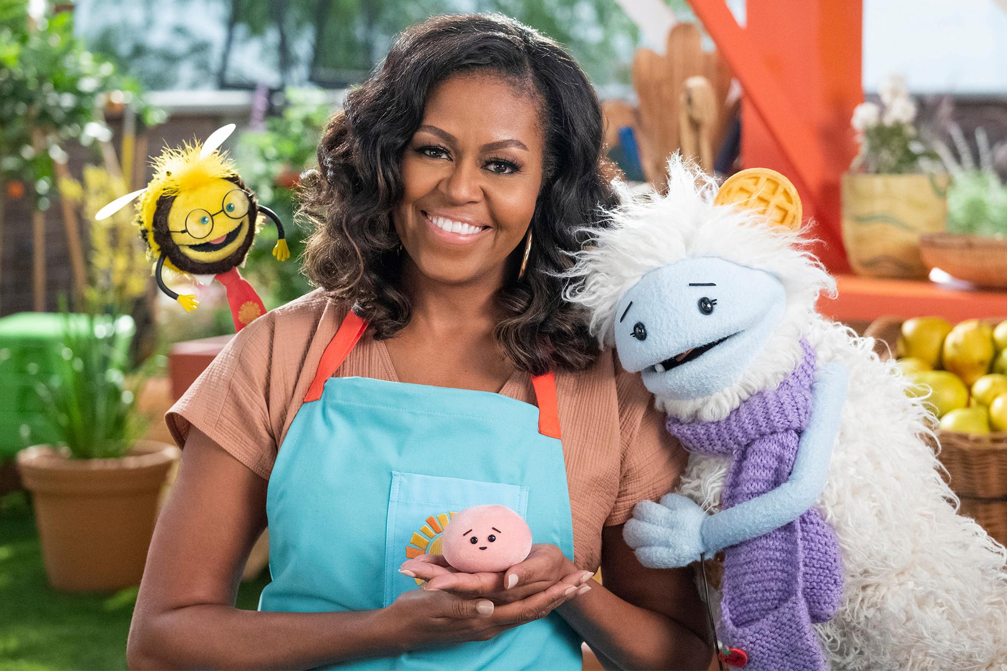 Michelle Obama launching Netflix cooking show Waffles Mochi