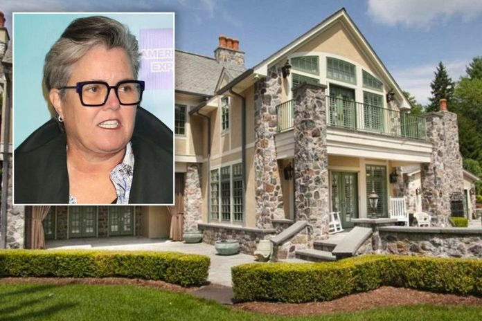 Rosie O'Donnell still can't sell her $6M NJ homeafter 5 years