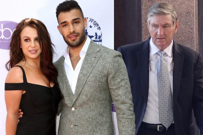 Sam Asghari calls Britney Spears' dad a 'total d--k'