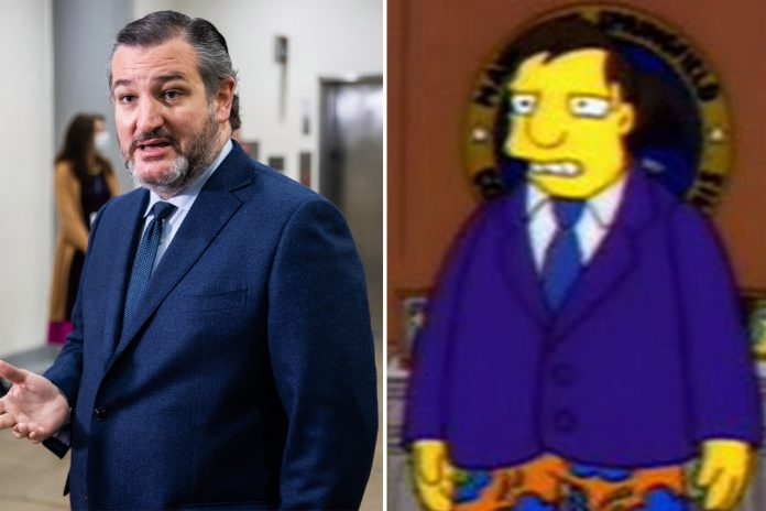 The Simpsons predicted Ted Cruz's Cancun debacle back in 1993