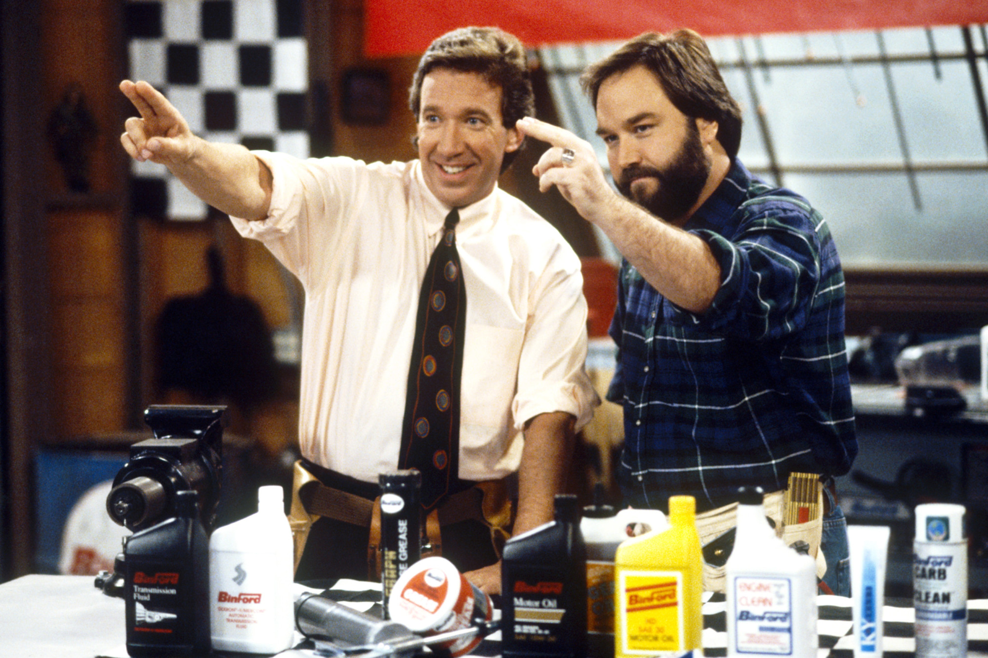 Tim Allen and Richard Karn of Tool Time returning to