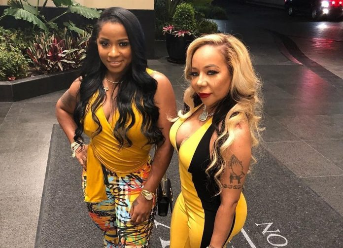 Tiny Harris Shares A Video Featuring The Ladies In Her And Toya Johnson's Family