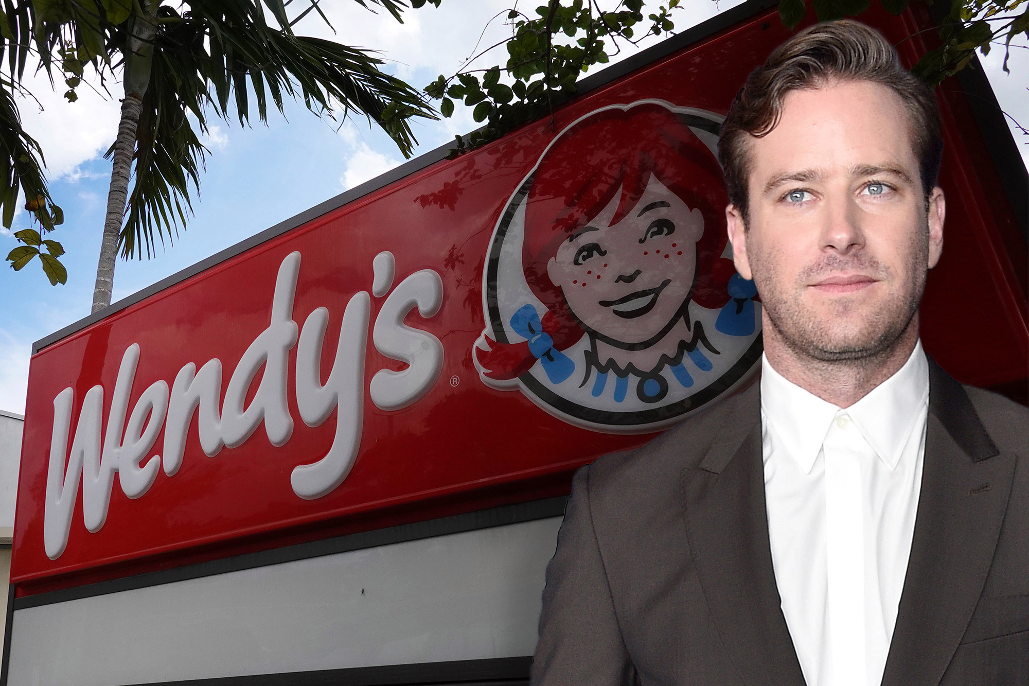 Wendys spares no one on NationalRoastDay — even Armie Hammer