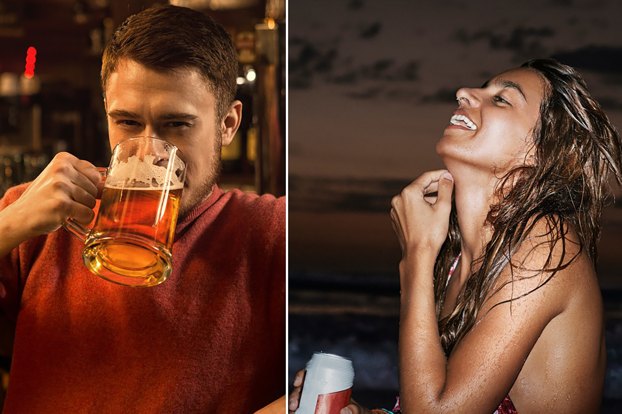 Why beer goggles make you look sexier TikTok doc