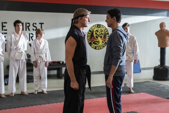 new student for Kreese in Cobra Kai Season 4
