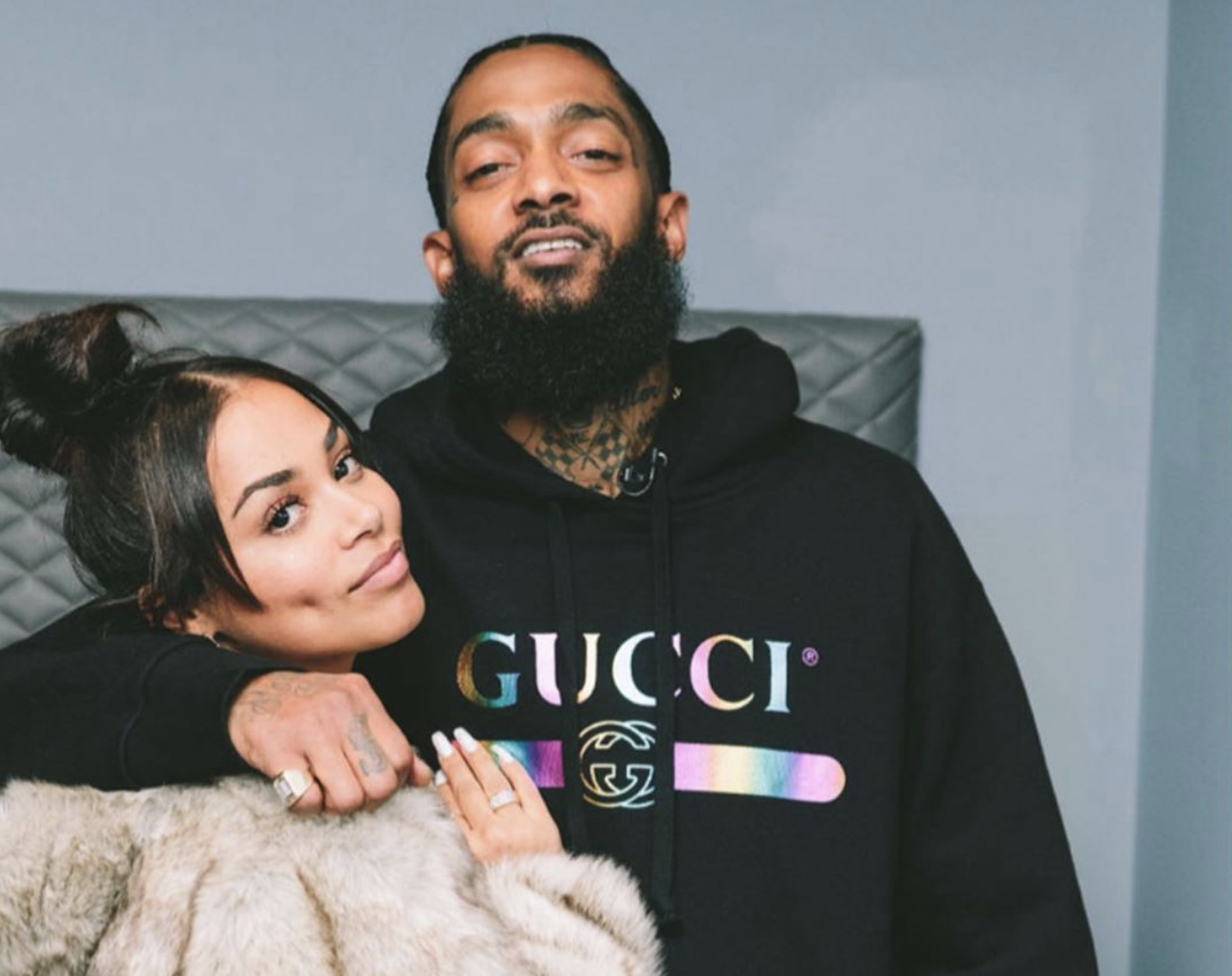 Lauren London Pays Emotional Tribute To Nipsey Hussle On The