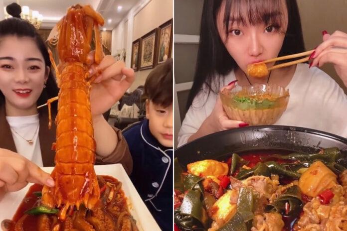 'Mukbang' binge-eating kink videos are now illegal in China