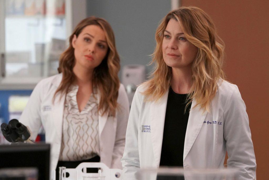 Grey's Anatomy Season 18 Ellen Pompoe