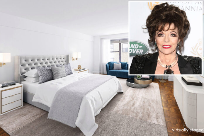 Joan Collins sells NYC pad with 16 'Dynasty' closets for $2M
