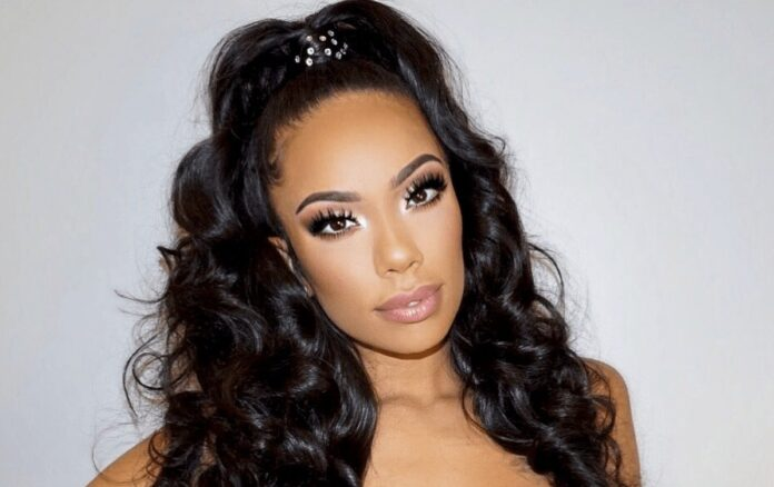 Erica Mena Is Putting Her Pregnant Belly On Display