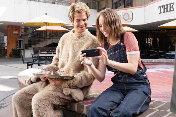 How Gia Coppola got Andrew Garfield to discover his inner 'Jackass'