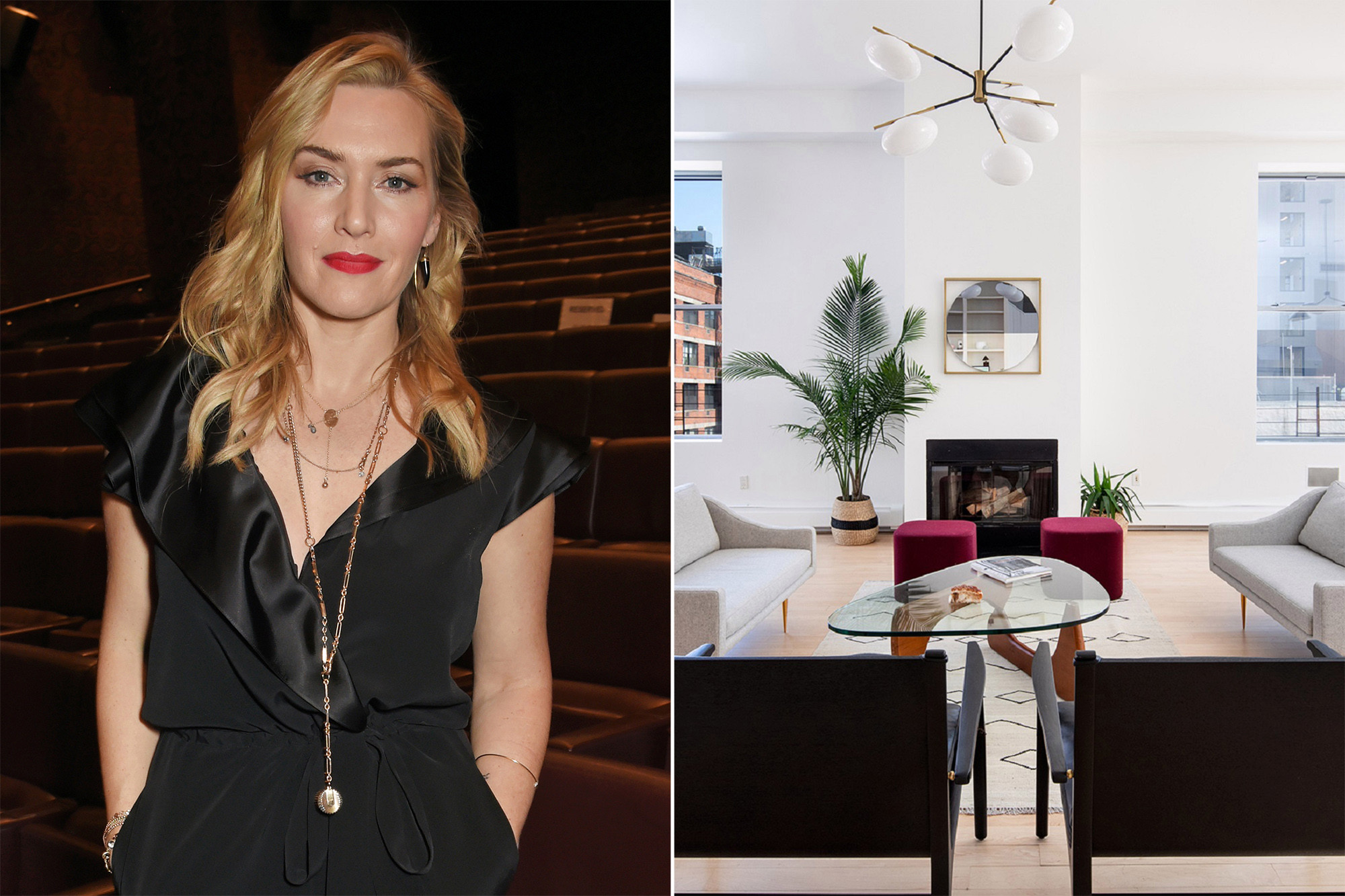 Kate Winslet sells titanic New York penthouse loft