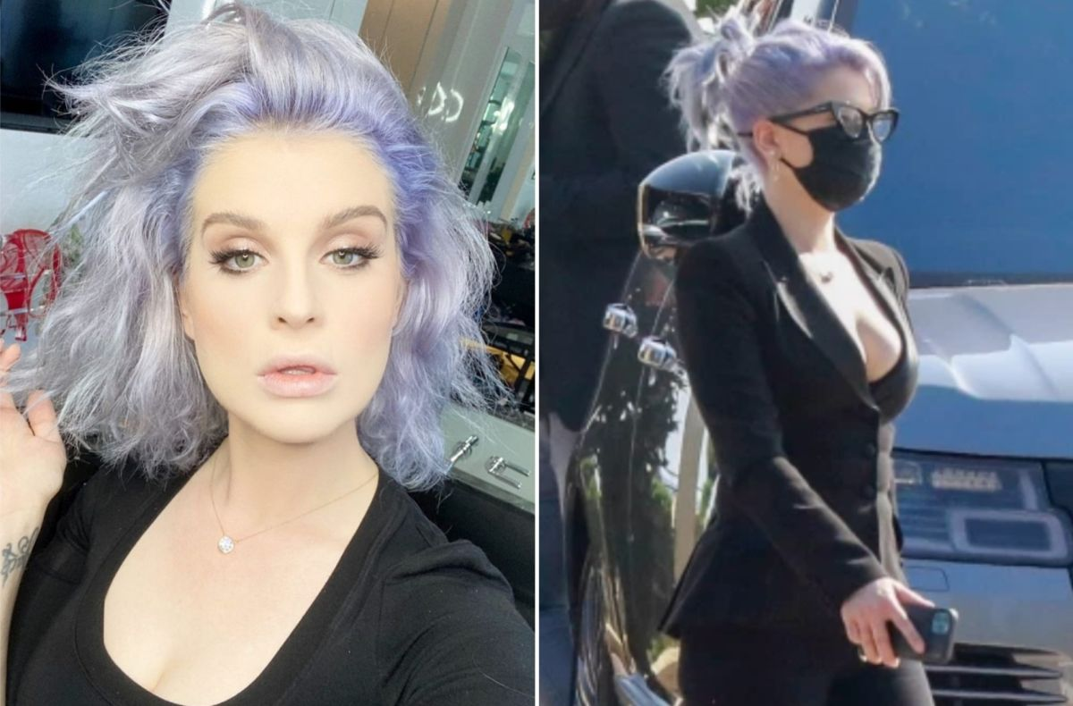 Kelly Osbourne Says She Gets Clothes From The Kids Section