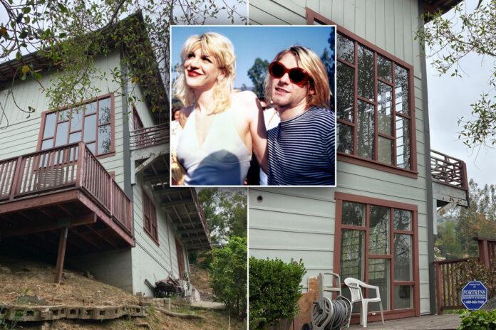 Kurt Cobain and Courtney Love's LA home for sale